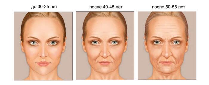 Программа возрастного конфигурации лица